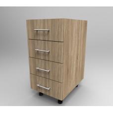 Модулен шкаф 40см с чекмеджета